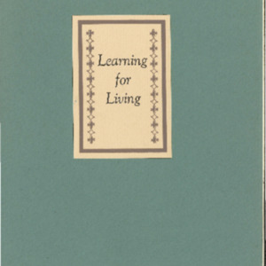 Learning for Living- The Bulletin June 1952- Vol IV #2.pdf