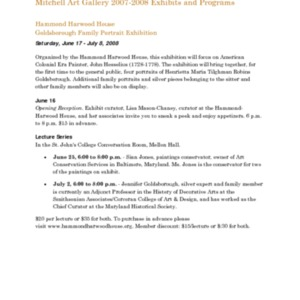 Mitchell Gallery Exhibition Schedule 2007-2008.pdf