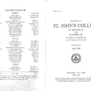 Bulletin of St. John's College, July 1966.