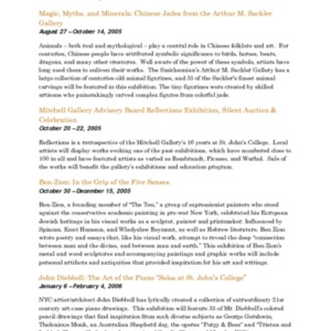 Mitchell Gallery Exhibition Schedule 2005-2006.pdf