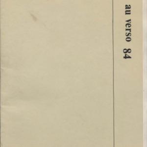 Au Verso, February 1984