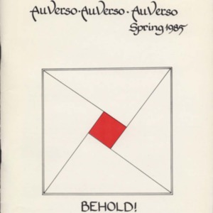 Au Verso, Spring 1985