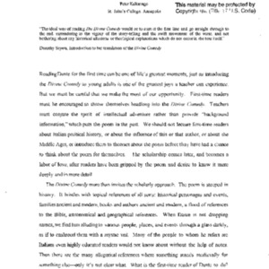FaFi-KalkavageP028 Teaching Dante's Divine Comedy.pdf