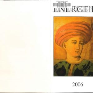 Energeia, Spring 2006