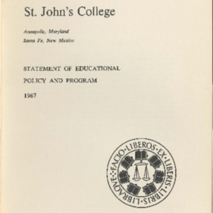 Bulletin of St. John's College, July 1968.