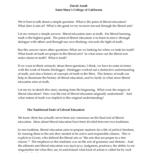 Arndt, David --Liberal Education and Truth.pdf