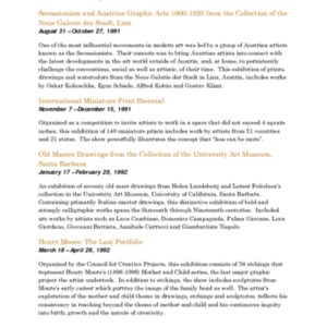 Mitchell Gallery Exhibition Schedule 1991-1992.pdf