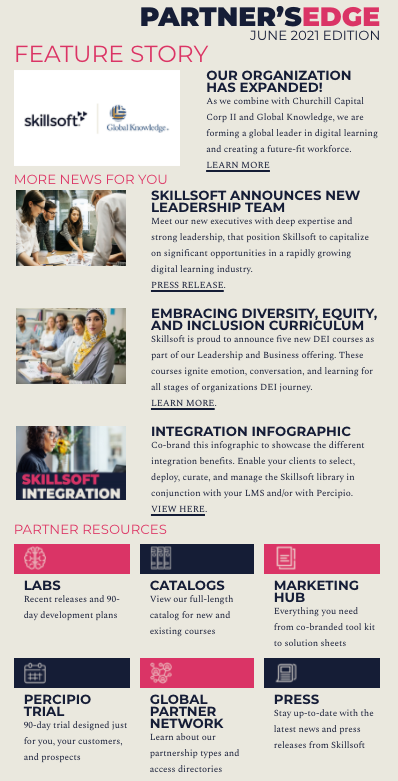 Partner Newsletter Sample