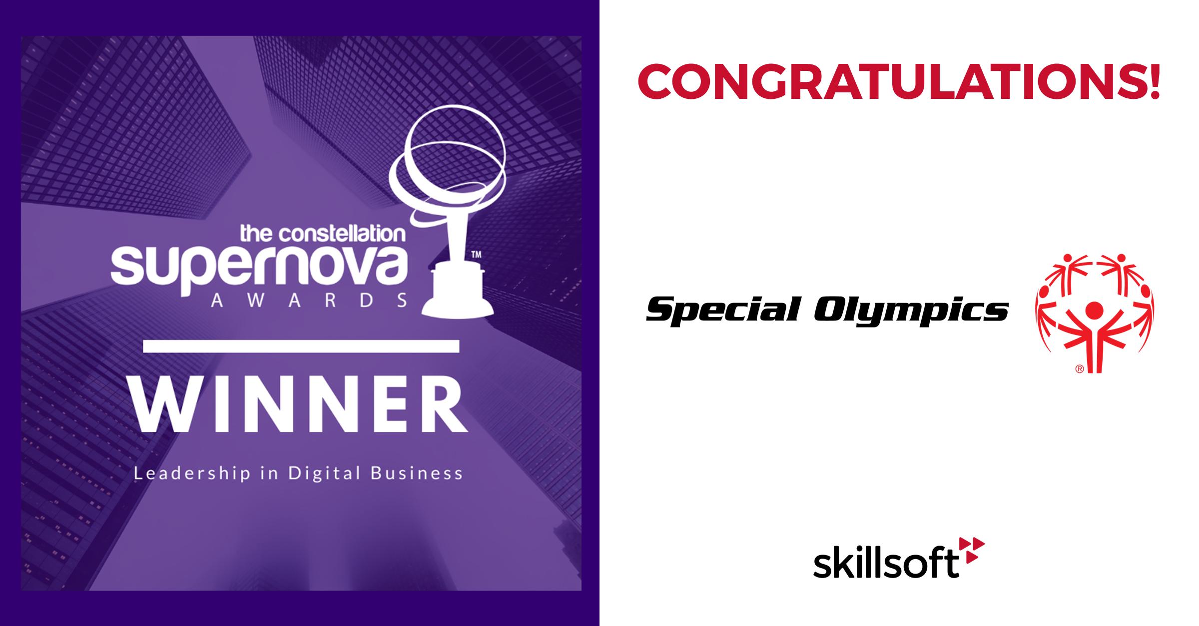 Special Olympics_Skillsoft_Supernova Award
