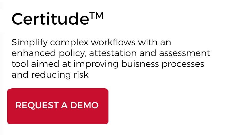 Request a demo of Certitude today