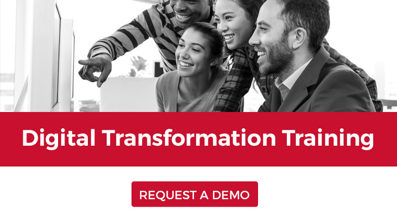 Request a demo to learn more about our Digital Transformation training solutions