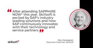 SAP and Skillsoft partner