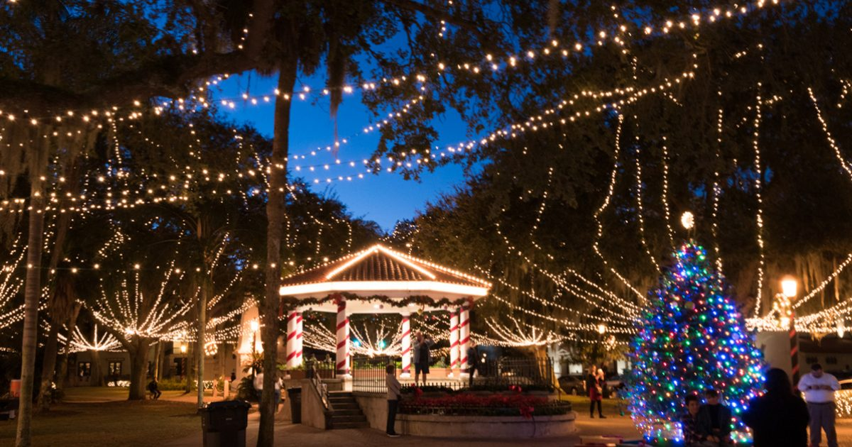 Florida Christmas.Christmas 2019 Events In St Augustine Florida S Historic