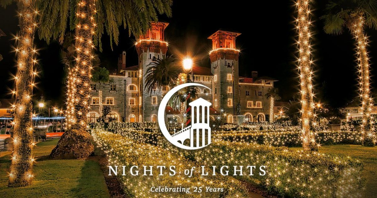 St Augustine Christmas Lights 2019 St. Augustine Nights of Lights 2019 2020 | Official Guide