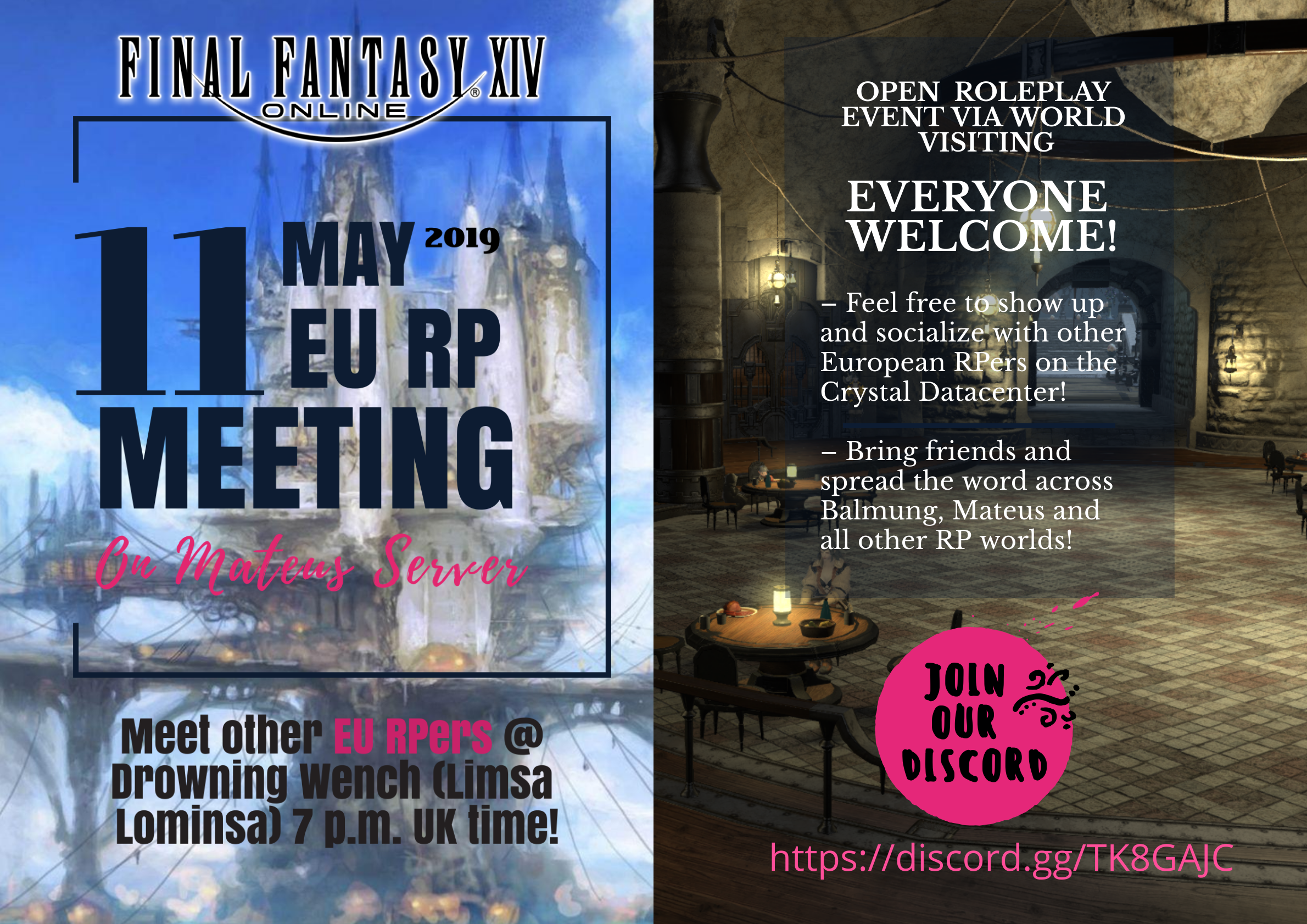 World Visiting] European Social Meeting on Mateus! - RPC Community
