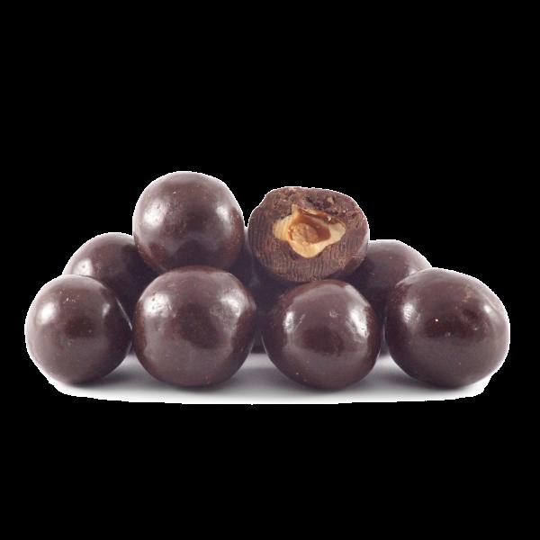 Noisettes au chocolat noir Bio