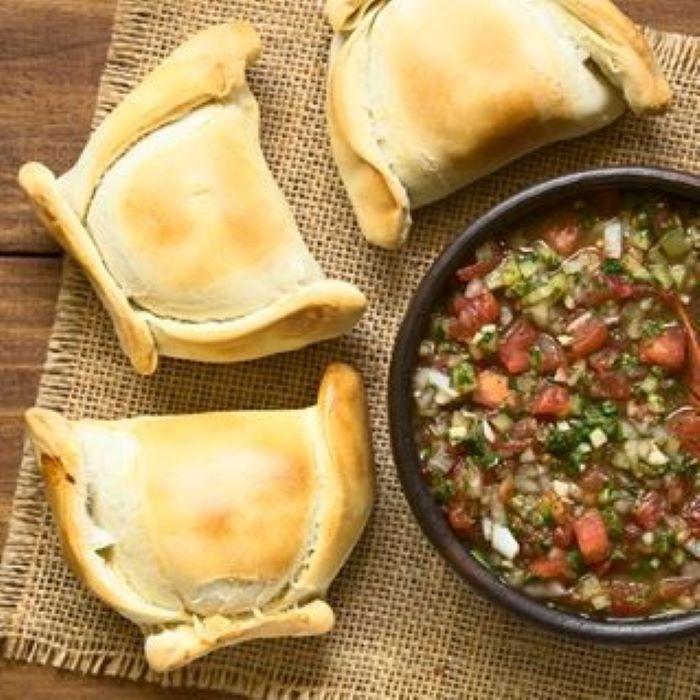 Recette d'empanadas aux lentilles corail, courgettes et tomates séchées <br>