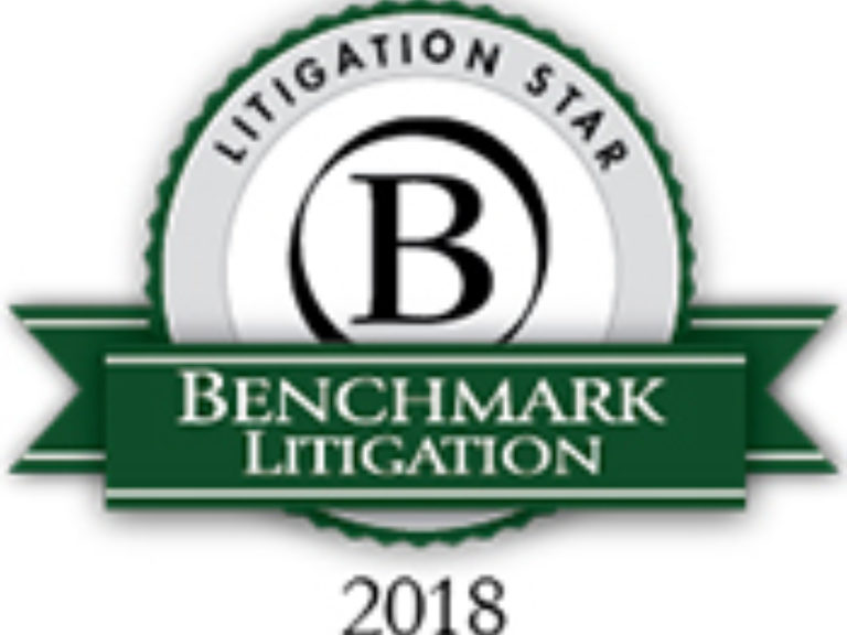 Benchmark Litigation Star 2018