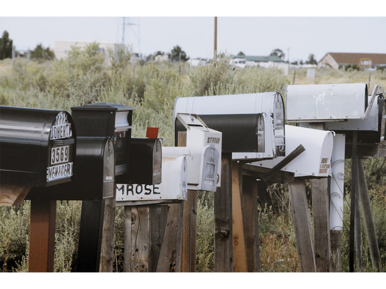 Mailboxes website