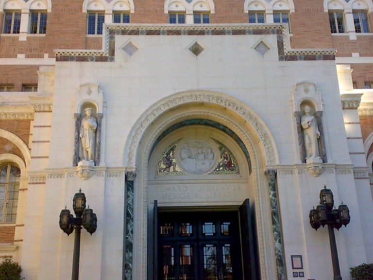 Scruton College Admissions Scandal USC Library 050619