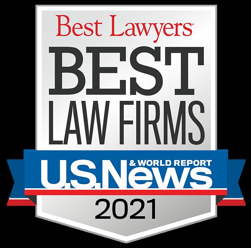 2021 Best Law Firms Standard Badge