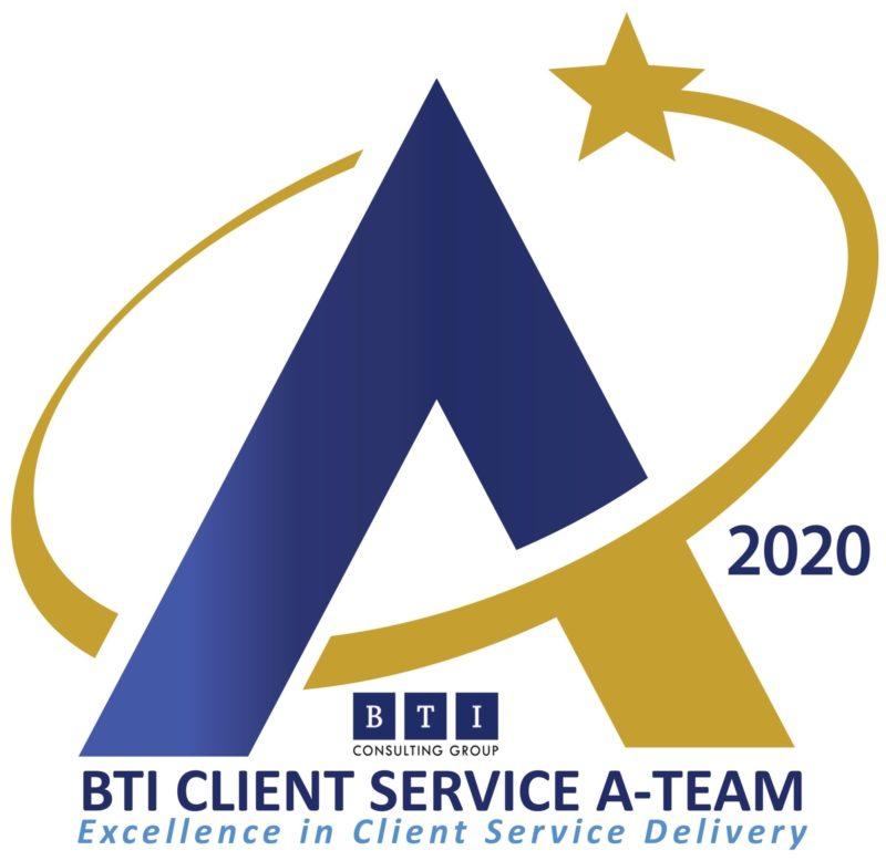 BTI Client Service A Team 2020 Logo