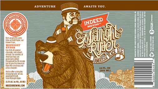 07 24 14 Blog Indeed Brewing Company Midnight Ryder American Black Ale