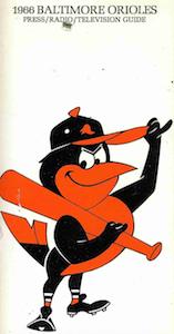 12 12 67 Oriole Bird Mascot