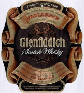 12 26 72 Glenfiddich Label