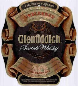 12 26 72 Glenfiddich Label