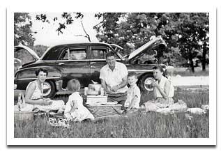 1950S Picnic Photo