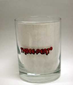 3Peat Shot Glass