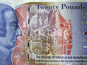 924803 Adam Smith On 20 Pound Note