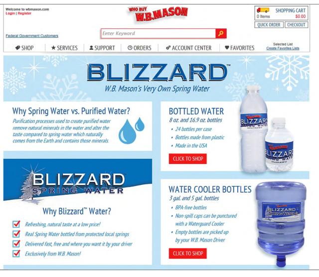 Beres Blizzardspringwater
