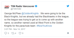 Bishopblogpost Goldenknights Tsnradio Jan2018 Jpg