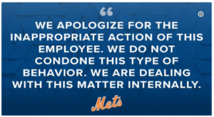 Mets Apolobize On Twitter