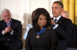 Oprah Winfrey Receives 2013 Presidential Medal Of Freedom