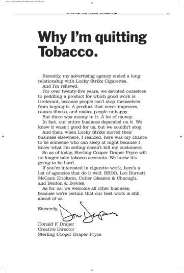 Why Im Quitting Tobacco