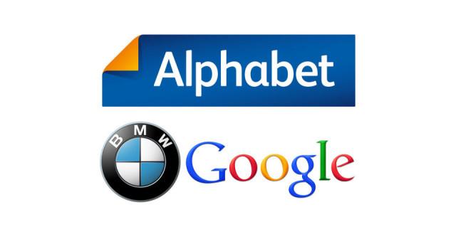 Alphabet Google Bmw