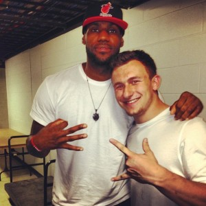 Lebron Johnny Manziel 1 Original