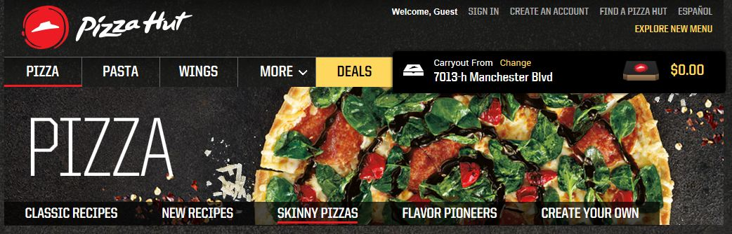 Pizza Hut Header1