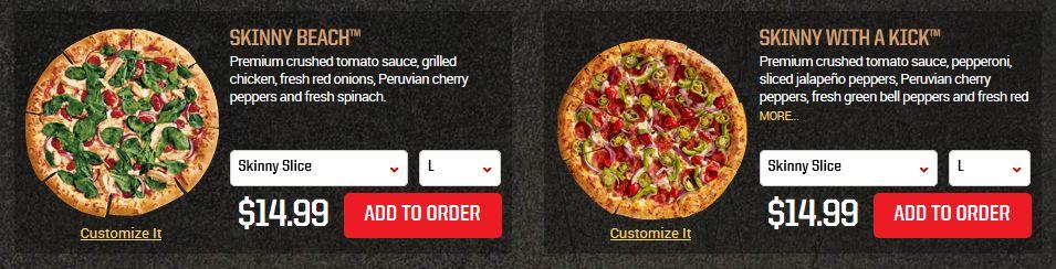 Skinny Bitch Pizza