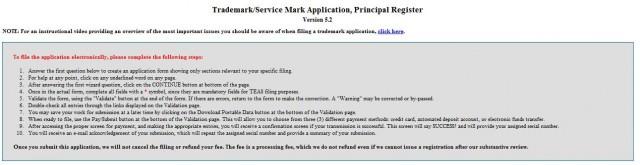 Trademark App