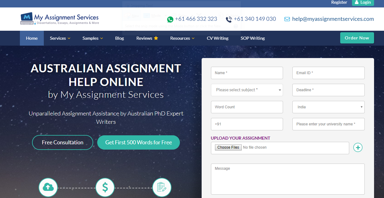 MyAssignmentServices Review