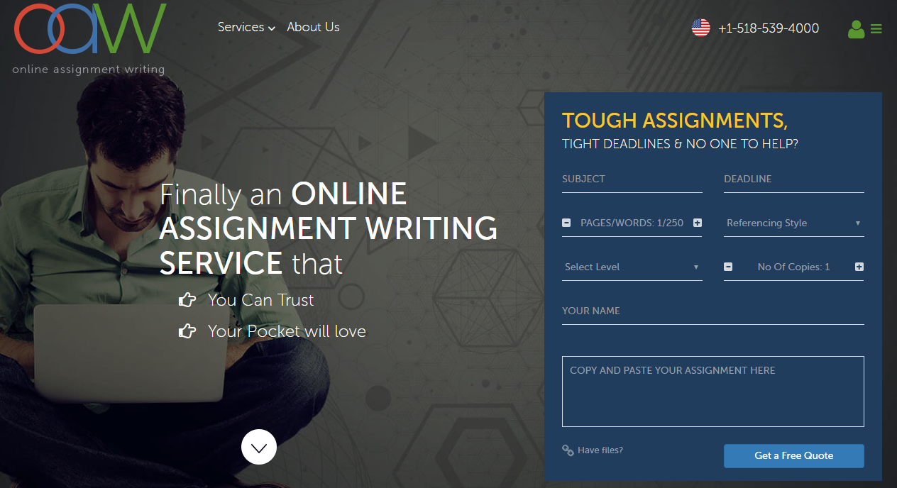 OnlineAssignmentWriting Review (OAW)