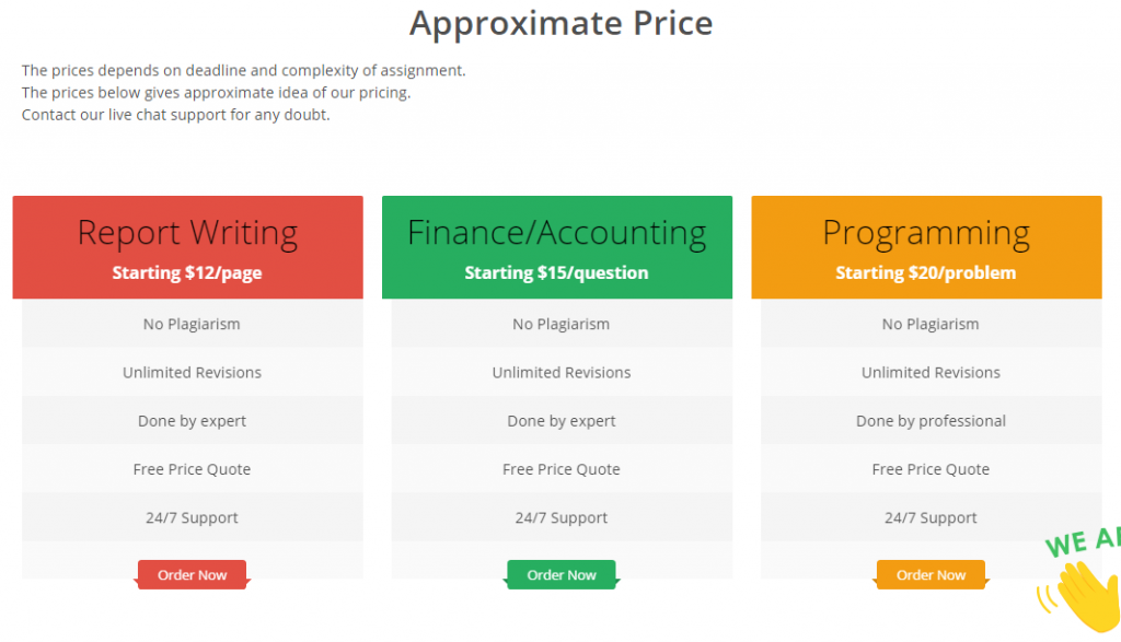 greatassignmenthelp review - Price