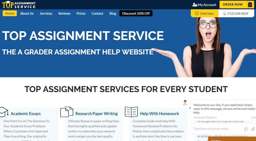 topassignmentservice.com - Home