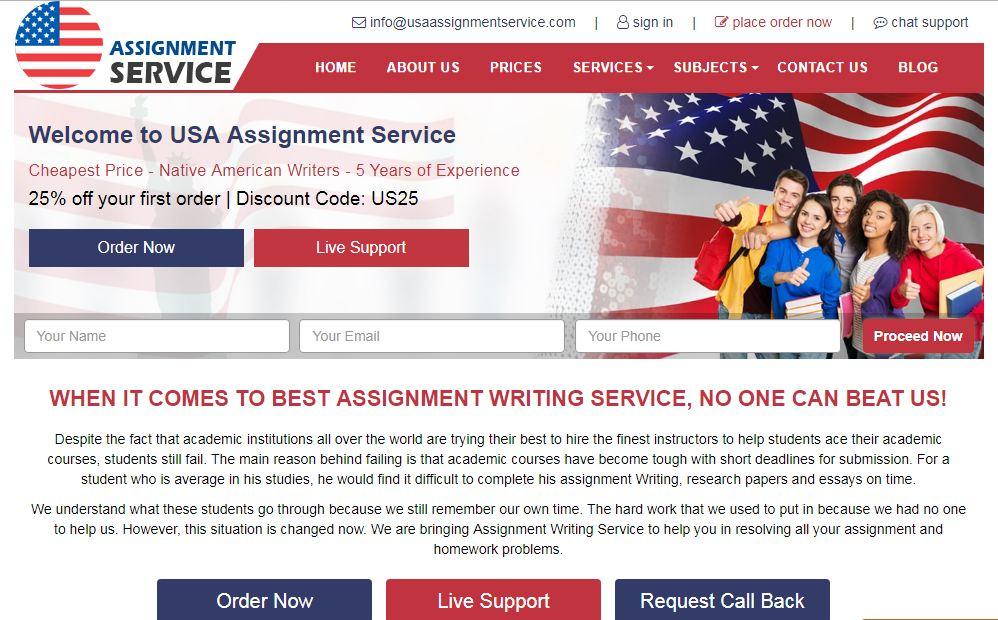 usaassignmentservice.com - Home