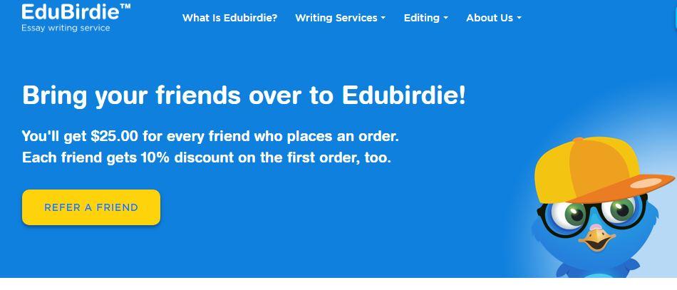 edubirdie.com review - Referral