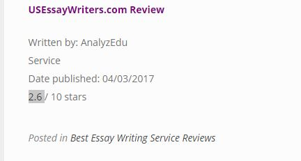 usessaywriters review - Review 2
